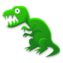 Tyrannosaurus Rex Emoticon