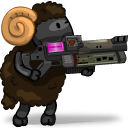 UT Player Shock Rifle Emoticon