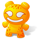 Orange Toy Emoticon