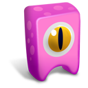 Pink Creature Emoticon