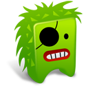 Green Creature Emoticon