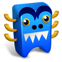 Blue Creature Emoticon