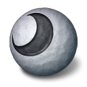 Orbz Moon Emoticon