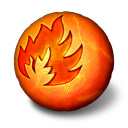 Orbz Fire Emoticon