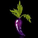Latex Carrot Emoticon