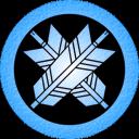Blue Ya 1 Emoticon