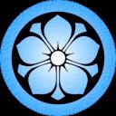 Blue Kikyo Emoticon