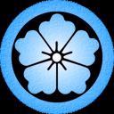 Blue Karahana Emoticon