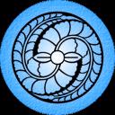 Blue Fuji Emoticon