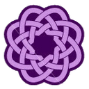 Purpleknot 3 Emoticon