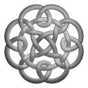 Grey Circleknot Emoticon