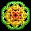 Greenyellow Circleknot Emoticon