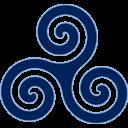 Blue Triskele Emoticon