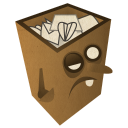 Trash Full Emoticon