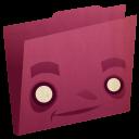 Folder Pink Emoticon