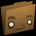 Folder Brown Emoticon