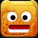 Orange Block Emoticon