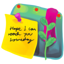 Sticky Note Emoticon