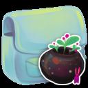 Folder Flowerpot Emoticon