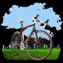 Travel Bicycle Emoticon