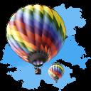 Travel Baloon Emoticon
