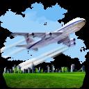 Travel Airplane Emoticon