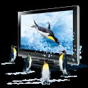 3D Penguins Emoticon