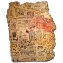 Turin Map Detail Emoticon
