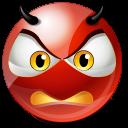 Furious Emoticon