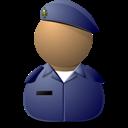 Elite Captain Blue Emoticon