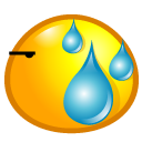 Sweat Emoticon