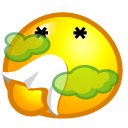 Bad Smelly Emoticon