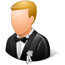 Wedding Groom Light Emoticon