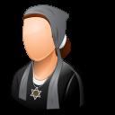 Religions Jew Female Emoticon