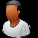 Person Male Dark Emoticon