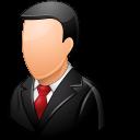 Office Customer Male Light Emoticon