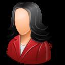Office Customer Female Light Emoticon
