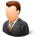 Office Client Male Light Emoticon