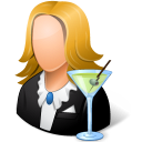 Occupations Bartender Female Light Emoticon