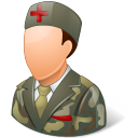 Medical Army Nurse Male Light Emoticon