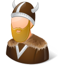 Historical Viking Male Emoticon