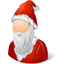 Historical Santa Claus Male Emoticon