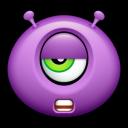 Alien Talk Tired Emoticon