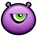 Alien Mad Emoticon