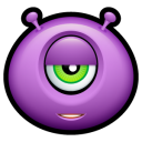 Alien Indifferent Emoticon