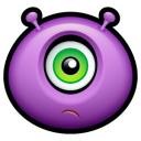 Alien Huffy Emoticon