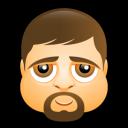 Male Face K3 Emoticon