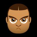 Male Face J5 Emoticon
