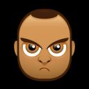 Male Face J4 Emoticon