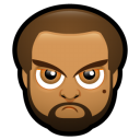Male Face J2 Emoticon